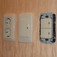 Монтаж, ремонт, замена выключателей Таштагол
